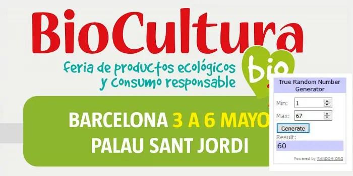 Ganadores Biocultura BCN 2018