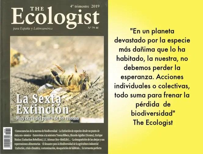 ecologist 79 - La sexta extinción. The Ecologist 79
