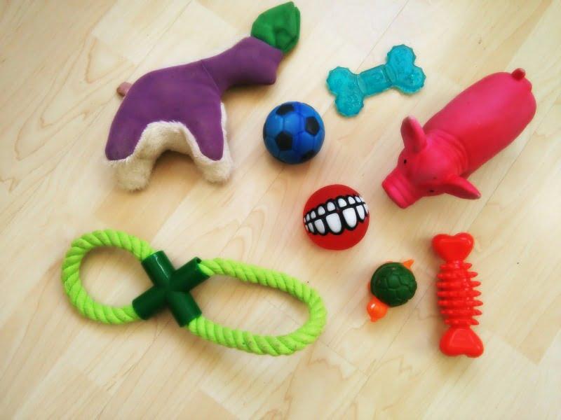 juguetes de cachorro