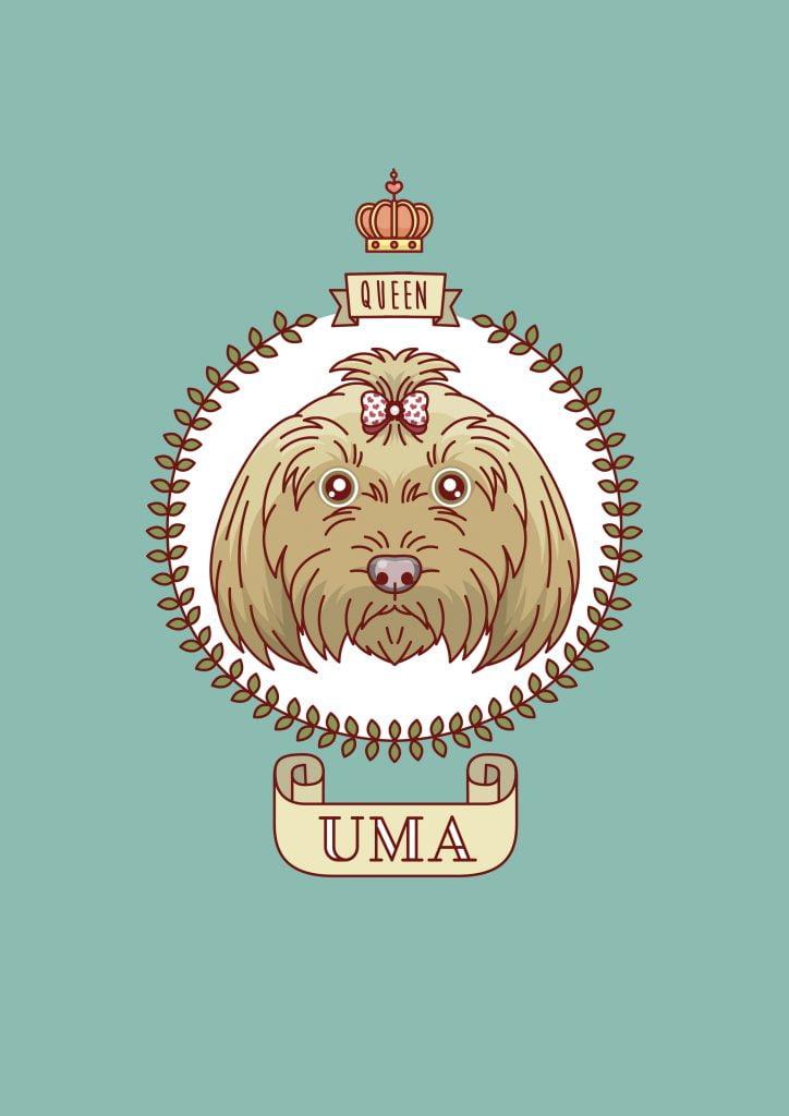 ilustraciones para perros