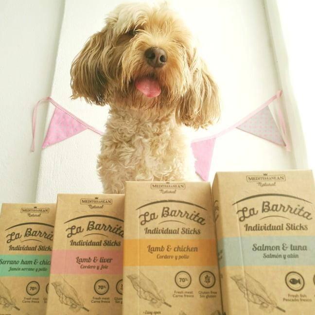 premios naturales para perros