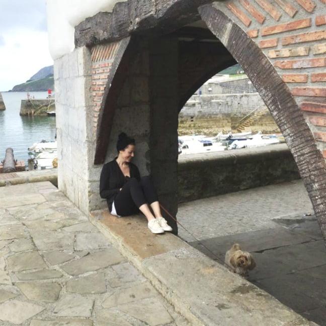 excursión con perro a Mundaka