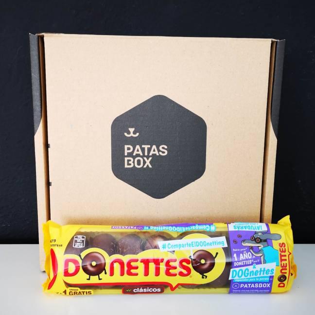 patasbox y donettes