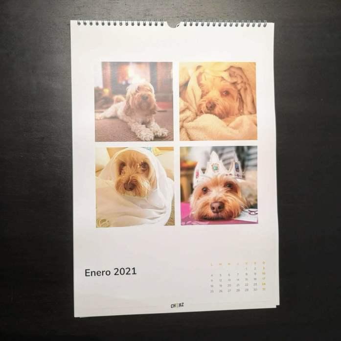calendario de fotos personalizado