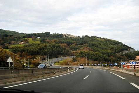 Viajar por la carretera del norte de España