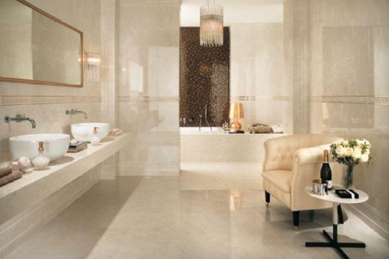 baño en colores neutros