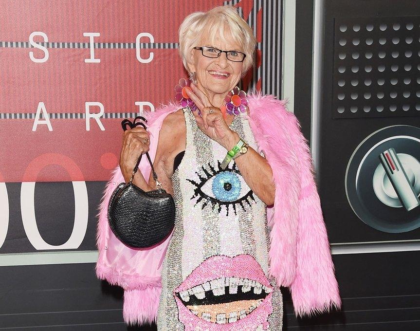 Baddie Winkle es una mujer longeva con mucha vitalidad