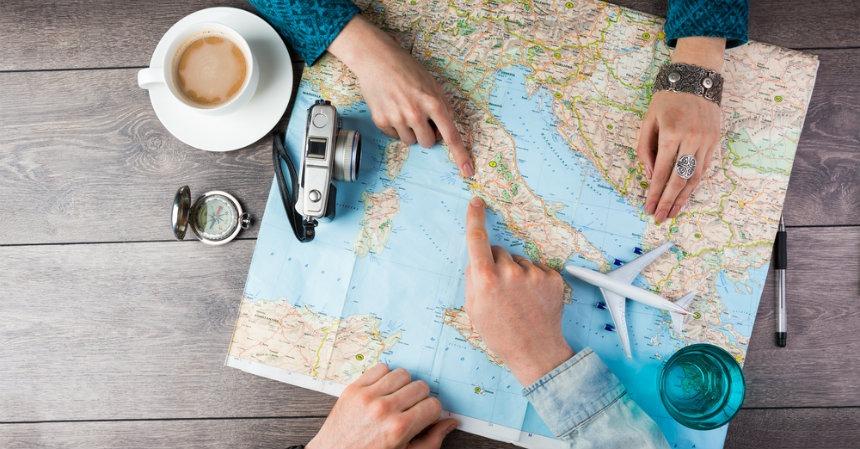 Preparándonos para viajar