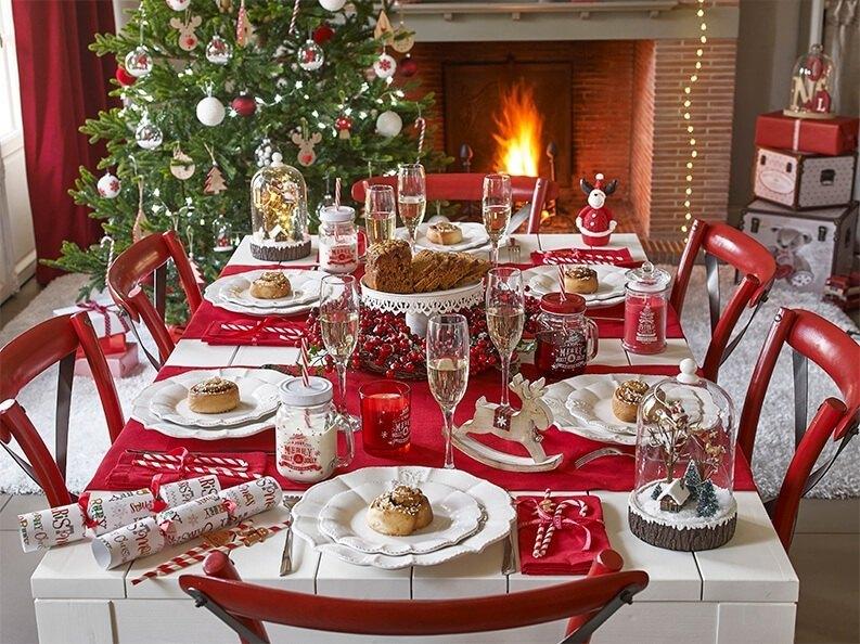 manteles para Navidad en combinación con el Feng Shui
