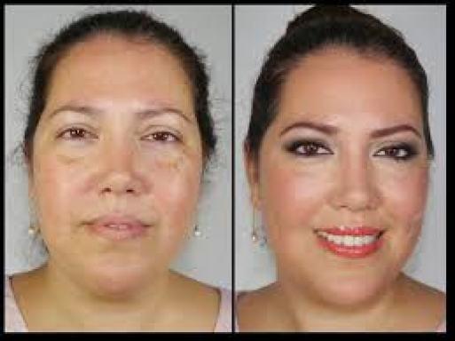 Un cambio de look en maquillaje