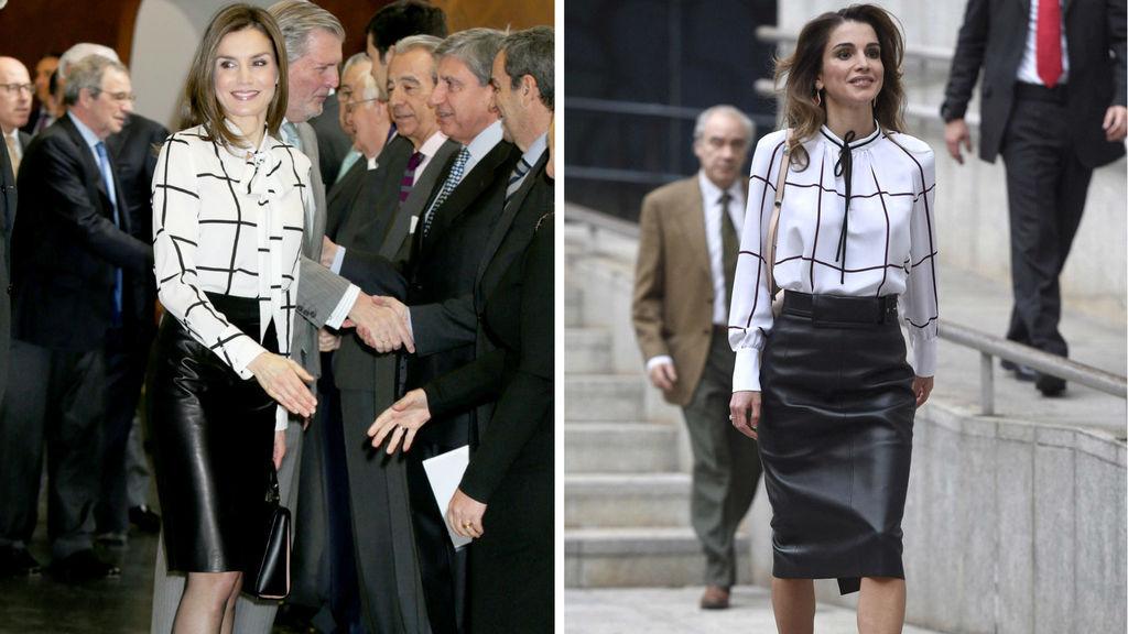 Se copian los estilos Letizia Ortiz y Rania de Jordania
