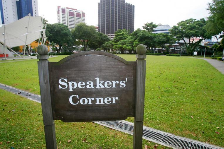 Speaker Corner, Londres