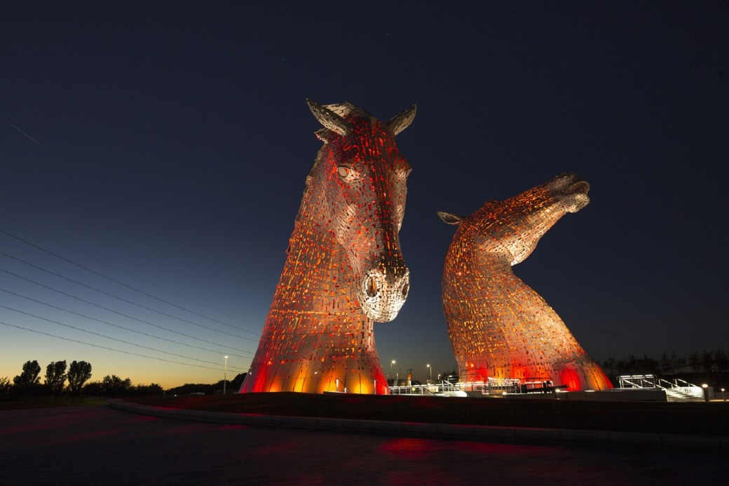 The Kelpies Falkirk. Escocia