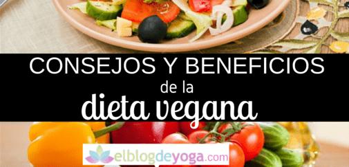 Consejos y beneficios de una dieta vegana