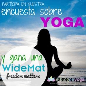 banner de la encuesta sobre yoga