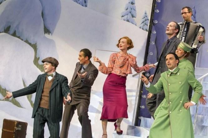 """""""Drei Männer im Schnee"""" am Staatsschauspiel Dresden"""