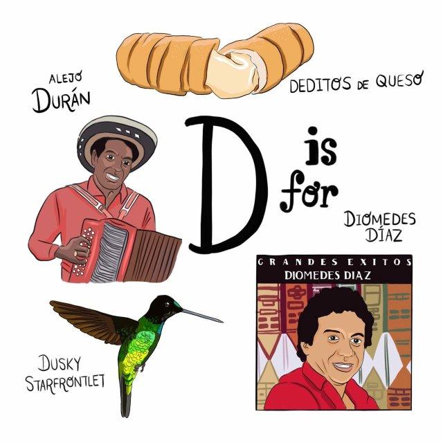 abecedario colombiano el bogotano d