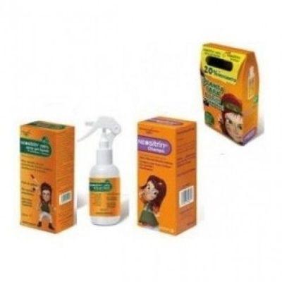 Neositri Pack gel spray + champú antipiojos y liendrera