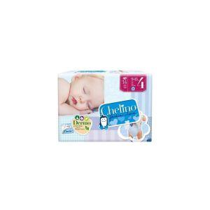 Con los pañales Chelino, el bebé mantendrá el culito completamente seco y sin irritaciones.