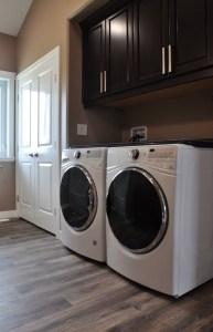 E & L Building Contractors laundry room