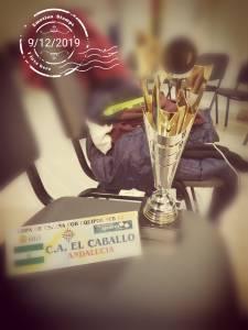 Trofeo por la tercera posición en la Copa de España sub12