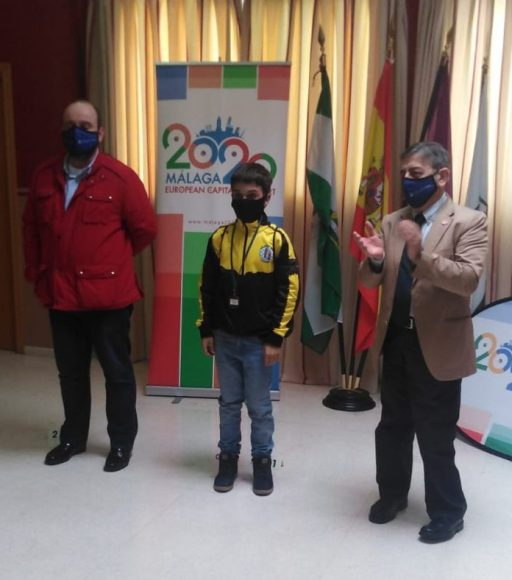 Saul Romero Soler, subcampeón absoluto de los XXXVI Juegos Municipales de Málaga