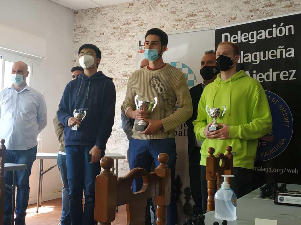 Campeonato de ajedrez de Málaga activo y relámpago