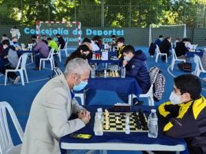 """Equipo """"Trío Benidorm"""" del Club de Ajedrez El Caballo de Casabermeja"""