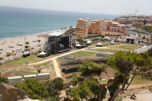 Vista desde el Castillo de Sohail