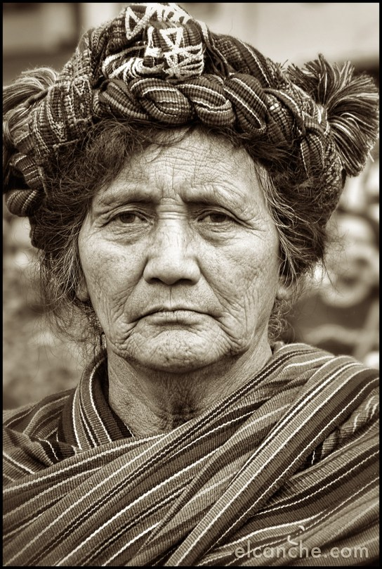 Indigenous Mayan woman in Guatemala