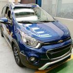 Foto Espia El Chevrolet Spark Activ Crossover Estara En El Salon De Bogota