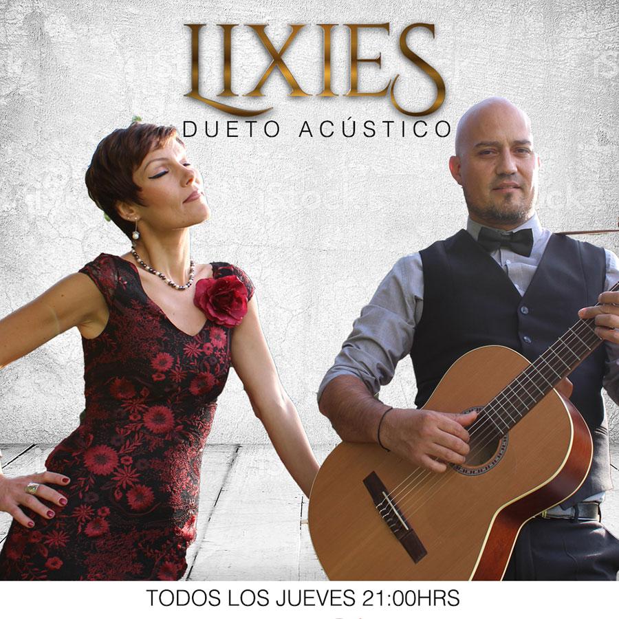 El Caserío Shows y Música presentan Lixies