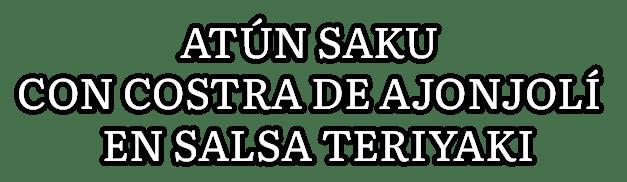 Atún Saku