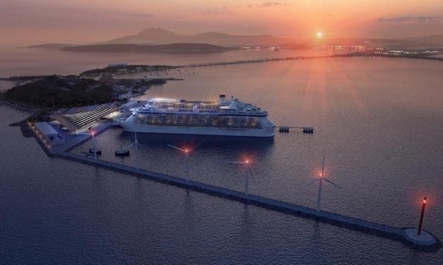Nuevo puerto de cruceros en El Causeway de Amador
