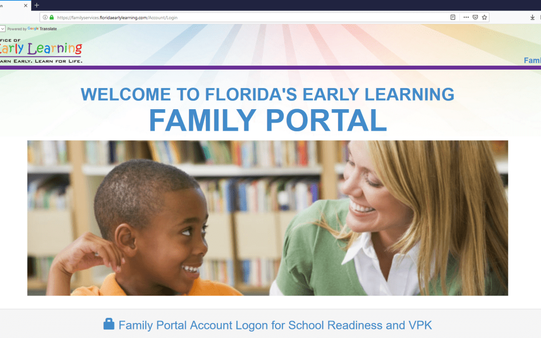 The Statewide Family Portal  Is Now Online!