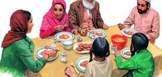 خصائص الأسرة المسلمة … الشبكة نت