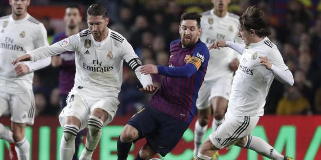 كاس اسبانيا .. ريال مدريد يفرض التعادل على برشلونة في نصف نهائي كأس الملك
