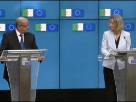 مساهل سيتحادث ببروكسل مع موغريني والامين العام للحلف الاطلسي في الاجتماع الوزاري الاوروبي العربي الخامس