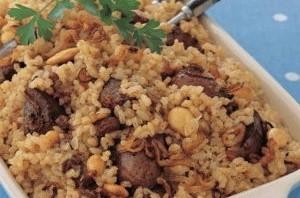 طبخ .. طريقة عمل ارز بالكبد والقوانص .. الشبكة نت