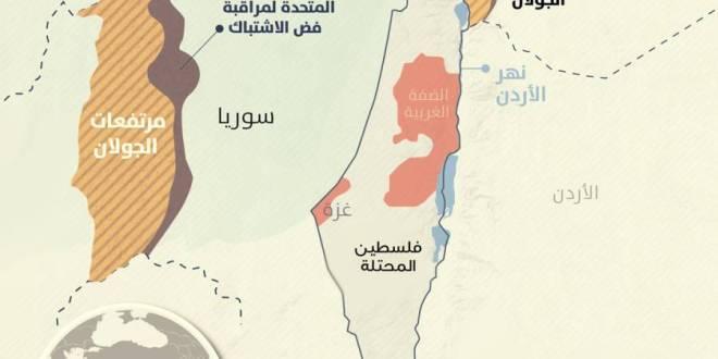 عاجلا .. مخطط صهيوني لتوطين ربع مليون مستوطن بالجولان السوري المحتل