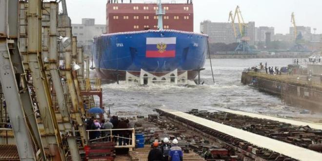 اشرطة وثائقية .. روسيا تدشن كاسحة جليد نووية