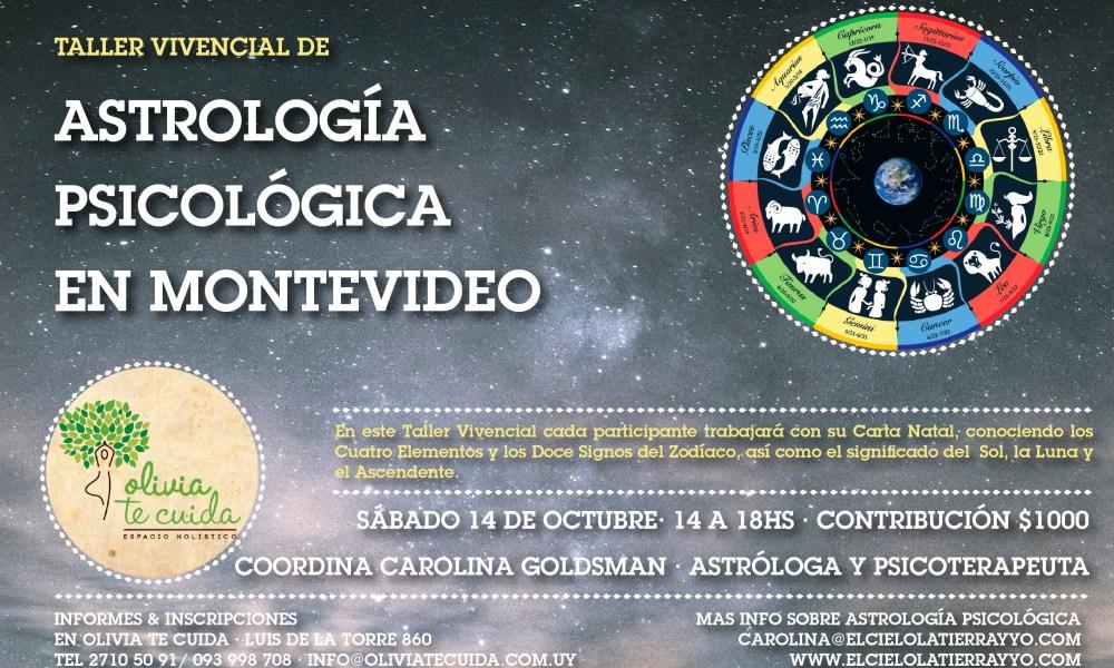 TALLER VIVENCIAL de Astrología Psicológica ::: En Montevideo · Uruguay