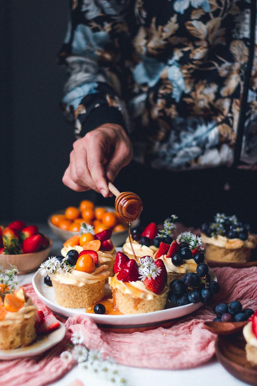 chiffon honey cake recipe