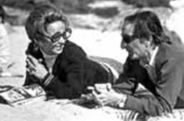 Graciela Bresciani junto a Rafael Sánchez