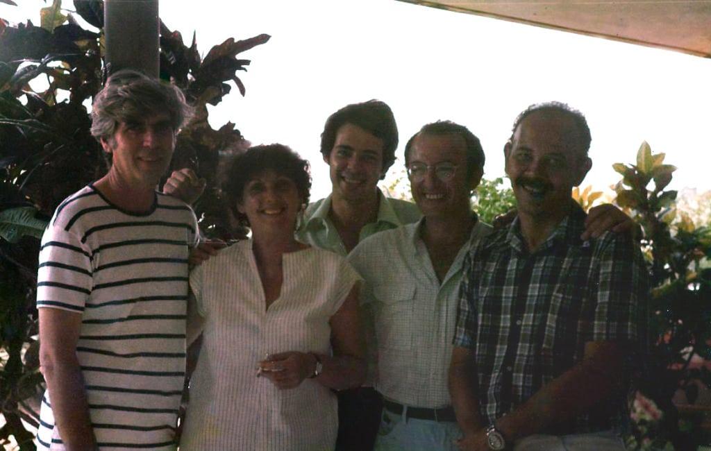 Humberto,Mayra,Cesar,Franco, Nelson fin de Amada 1983