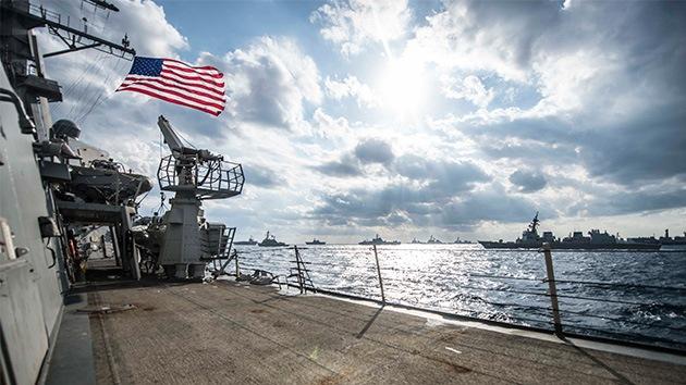 Quinta Flota de EE.UU. pierde en mar abierto un contenedor con material radioactivo