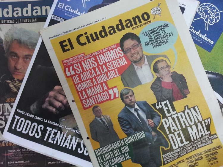 Informe Anual de la CIDH cuestiona condena contra El Ciudadano por reportaje sobre diputado Marinovic