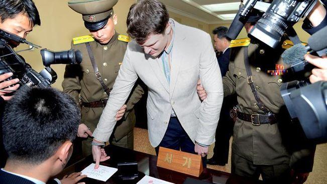 Corea del Norte: Condenan a 15 años de trabajo forzoso a un estudiante estadounidense