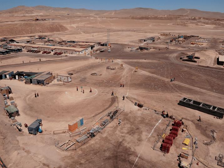 Trabajador murió en minera del Grupo Luksic tras sufrir caída en inspección