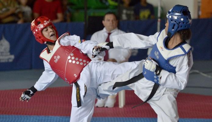 Virginia Dellán taekwondo Venezuela